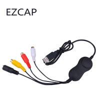 Ezcap USB Audio Video Capture Card Dongle for MAC Windows Linux Win7 Win10 64bit