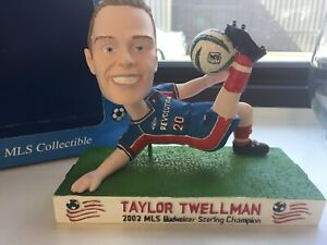 2002 Taylor Twellman Bobble Head New England Revolution New In Box