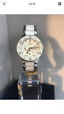 Festina Ladies Multifunction CERAMIC Analogue White Dial Bracelet Watch F16573/3