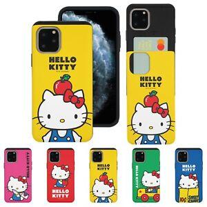 Sanrio Hello Kitty Card Bumper Cover for iPhone 12 11 Pro XS Max mini XR 8 Case