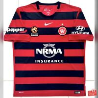 Authentic Nike Western Sydney Wanderers 2015/16 Home Jersey. Size XL, Exc Cond.