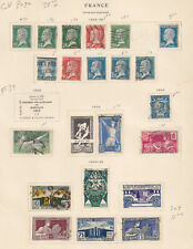 FRANCE  INTERESTING COLLECTION ON ALBUM PAGES - Y439 #1