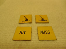 DOGFIGHT GAME PIECES YELLOW SQUARE ANTI-AIR TOKENS  (American Heritage) MB
