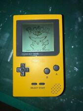 Nintendo - GameBoy Pocket Yellow Handheld Console Tested Working