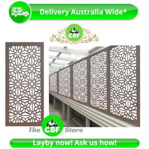 5 PACK- Christchurch- Australian Made Privacy Wooden Outdoor Screens- 600x1200mm