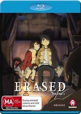 Erased: Volume 2 (Eps 7 - 12) NEW B Region Blu Ray