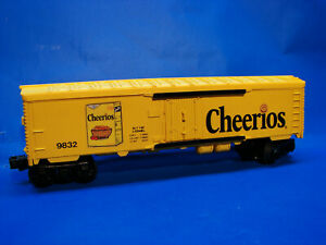 Rare 1982 Lionel 9832 Cheerios Reefer Factory Archive Mockup Sample, C9