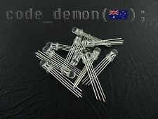 10 pieces RGB LED 5mm  - Tri Colour Ultra Bright Common Anode - Arduino / AVR