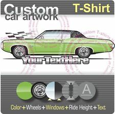 Custom T-shirt for 1969 69 Chevrolet Chevy Impala 427 Caprice hardtop Coupe fans