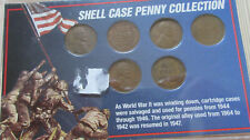 US Shell Case Penny Collection Set Lincoln Coins RJ