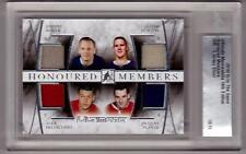 JOHNNY BOWER TIM HORTON DELVECCHIO JACQUES PLANTE 14/15 ITG Ultimate Jersey #/15