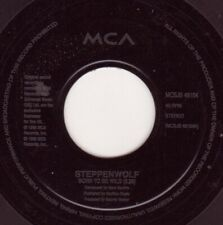 "Steppenwolf ‎– Born To Be Wild / Magic Carpet Ride. Etched Jukebox 7"". Mint"
