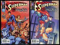 Superman Thundercats 1 One Shot Comic Lot w/ Variant Mumm-Ra Snarf Alé Garza art