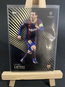 Lionel Messi - Topps Uefa Champions League Knockout - 2020/21 - Mint
