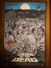 Amanecer De Los Muertos-Cartel de impresión de pantalla-Variante-arte por Jeff Proctor-Mondo