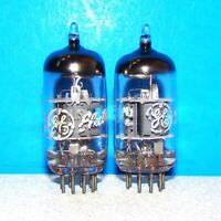 6BL8 ECF80 GE 2 radio guitar vintage audio amplifier vacuum tubes valves tested