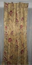 "J. C. PENNEY CHRIS MADDEN PINCH PLEATED DRAPES 1 PR 84"" LENGTH FOAM BACK LINING"