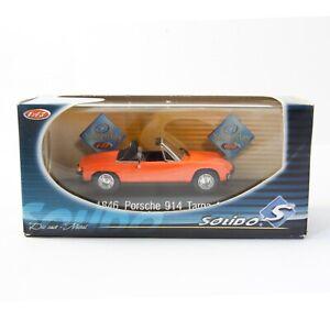 NEW OLD STOCK - 1969 VW PORSCHE 914 TARGA - SOLIDO 1846 1:43 METAL DIE CAST 2OF2