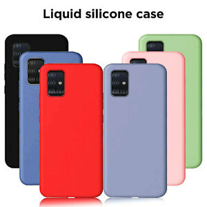 Liquid Silicone Case for Samsung Galaxy S10/S10 Plus/S10e/S9/S8/S7 Edge Cover