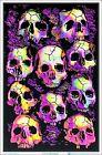 Wall Of Skulls Blacklight Poster 23 x 35