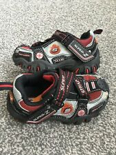 Skechers RS Super Z Hotlights Boys Infant Size 4.5 EU 21 Trainers Shoes New