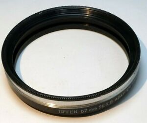 Tiffen 67mm step up ring Adapter to series 8 VIII screw in