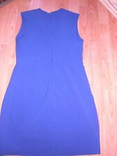 Primark Purple Fully Lined Fitted Dress Size 14 Worn Once
