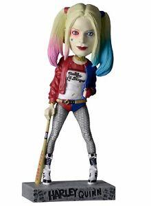 NECA Suicide Squad Head Knocker Harley Quinn Figurine Résine - 20 cm