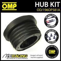 OMP STEERING WHEEL HUB BOSS KIT fits VAUXHALL CORSA C 1.8 SRI (17mm) 00-06