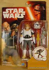 """STAR Wars la forza si sveglia il Capitano Rex RIBELLI RARO 3.75"""" Action Figure MOC!"""