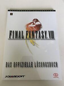 Final Fantasy VIII 8 Lösungsbuch Guide NEU Sealed Verschweißt