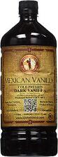 Mexican Vanilla Dark Cold Pressed 1 Liter / 33.8 Oz