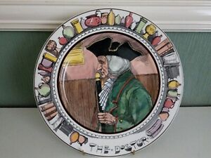 """Vintage Royal Doulton """"The Doctor"""" D6281 Plate"""