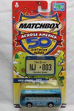 Matchbox 1:64 Scale ACROSS AMERICA BIRTHDAY NEW JERSEY IKARUS COACH