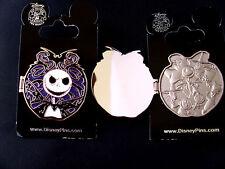 Disney * JACK SKELLINGTON * Hinged - Purple Sparkle * NBC Villain Trading Pin
