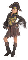 Sassy Pirate Wench Caribbean Buccaneer Girl Dress Up Halloween Child Costume