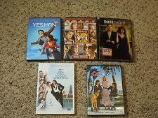 Lot of 5 DVDs Comedy Movies Yes Man Date Night My Big Fat Greek Wedding