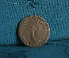Italian States 1757 Mantua Sesino World Coin Crowned Cross di Mantova Italy et