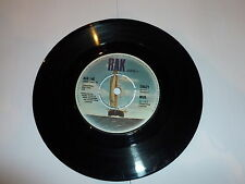 """MUD - Crazy - 1973 UK 7"""" vinyl single with intact four prong centre"""