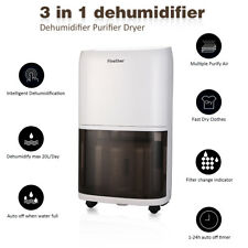 Finether 20 L/D Deshumidificador Aire Purificador Dehumidifier Anión 5.5L Dryer