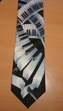 "Addiction Piano Musician Music Teacher Singer Gift Classic Long 61"" Novelty Tie"