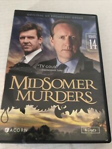 Midsomer Murders: Series 14 (DVD, 2015, 4-Disc Set)