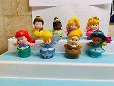 Fisher Price Little People Disney's Princess Figures, Belle , jasmine  + More