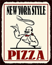 (VMA-L-6507) New York Pizza Vintage Metal Art Italian Pizzeria Retro Tin Sign