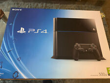 PlayStation 4 PS4 Console Empty Box + Inserts ONLY