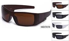 Sports Sunglasses Dark Lens Gangster Thugs Bikers Eyewear UV Protected New