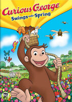 Curious George - Swings into Spring New DVD