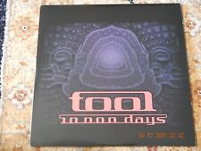 TOOL 10,000 DAYS ONE RED VINYL ONE BLACK VINYL VERY LIMITED PRESSING