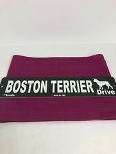 Dog Breed Street Sign Boston Terrier