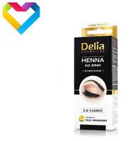 HENNA DELIA COLOUR CREAM FOR EYEBROWS 1.0 BLACK 15ml